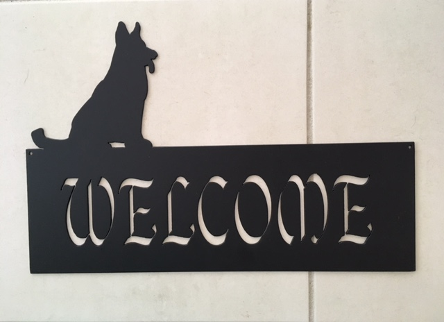 German Shepherd Welcome