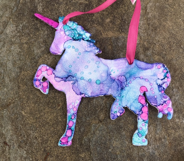 Unicorn Ornament2