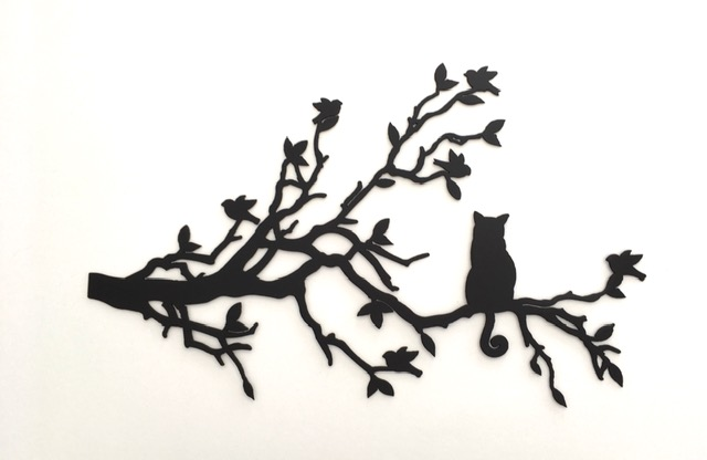 Cat on a Branch-small